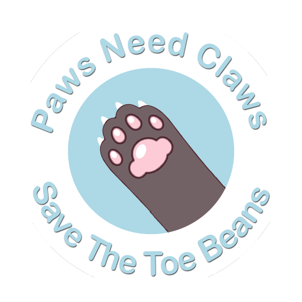 Paws Need Claws - Save The Toe Beans